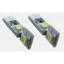 2 x T10 Led Canbus xenon wit Type A