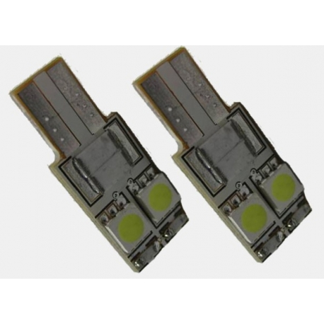 2x T10 Canbus xenon wit Type D