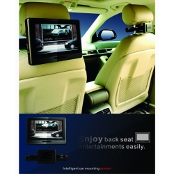 Afneembare 9 inch touch screen portable SONY dvd speler