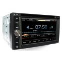 HD 2DIN Europa navigatie radio incl DVD en Bluetooth