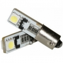 2 x BA9S T4W Led Canbus xenon wit Type L (2 SMD)