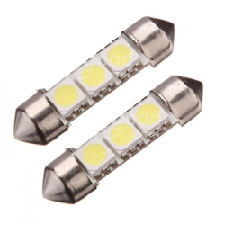 2 x Festoon 39 mm Led Canbus xenon wit Type Z (3 SMD)