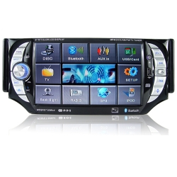 1 DIN 5 inch TFT autoradio DVD SD USB met bluetooth