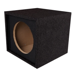 "Slot ported behuizing - 10"" subwoofer/ bassbox 370x350x330mm"
