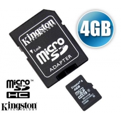 4GB SD mini met adapter