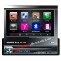 7 Inch Touchscreen Klapscherm autoradio met Bluetooth en DVD speler