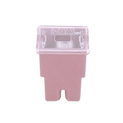 FLF pal zekering - 30 ampère - rose - afmeting: 22.2 X 15 X 31.5 mm - female - 1 stuk 0