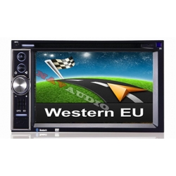 Full HD 2DIN Europa navigatie radio incl DVD en Bluetooth
