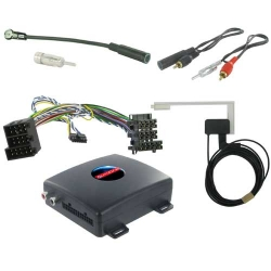 DAB FM interface voor Mercedes A B C & CLK (10 polige ISO)