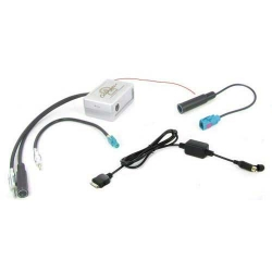 iPod & iPhone FM transmitter voor diverse Peugeot type's (Fakra)