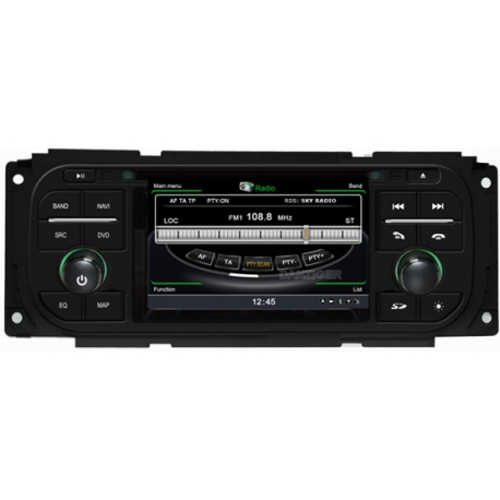 Chrysler PT Cruiser (2002-2006) Autoradio navigatie full europa incl. HD scherm