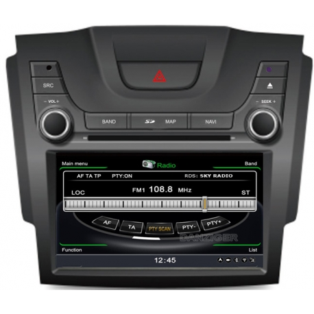 Chevrolet Colorado Autoradio navigatie full europa incl. HD scherm