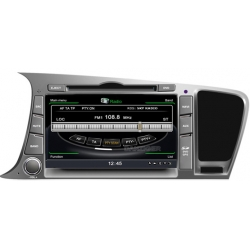 Kia Optima 2011> Autoradio navigatie full europa incl. HD scherm