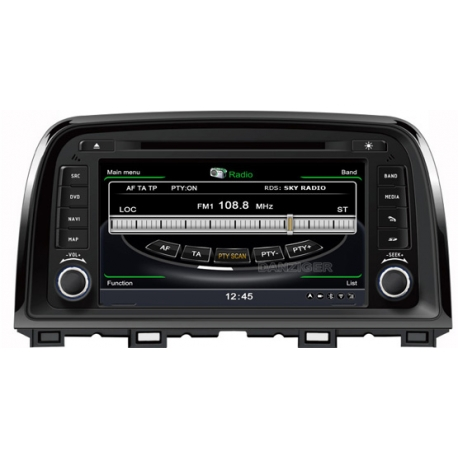 Mazda CX 5 (model 2) Autoradio navigatie full europa incl. HD scherm