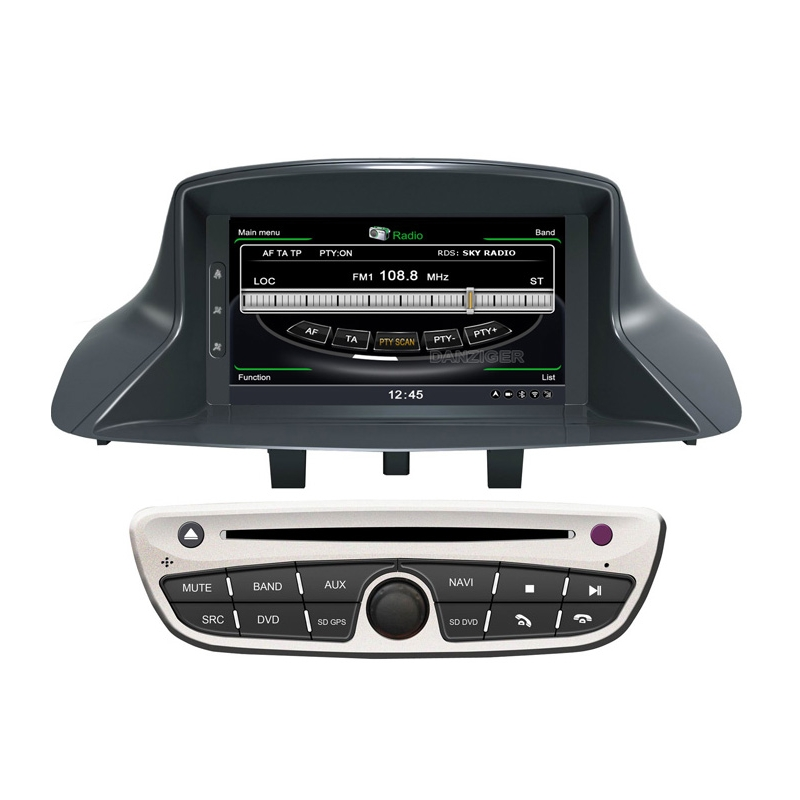 renault megane 3 autoradio navigatie full europa incl hd scherm navaudio. Black Bedroom Furniture Sets. Home Design Ideas