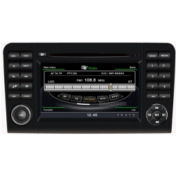 Mercedes ML Autoradio navigatie full europa incl. HD scherm