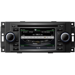 Jeep Grand Cherokee 2005-2011. Autoradio navigatie full europa incl. HD scherm