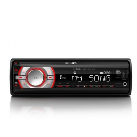 PHILIPS CE132 CAR RADIO voor USB/SDHC