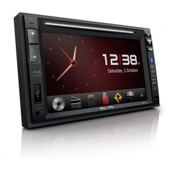 2DIN PHILIPS CED1900BT CAR AUDIO / DVD VIDEO SYSTEEM 6,2 + Bluetooth