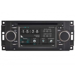 Jeep Compass / Commander / Grand Cherokee navigatie Radio
