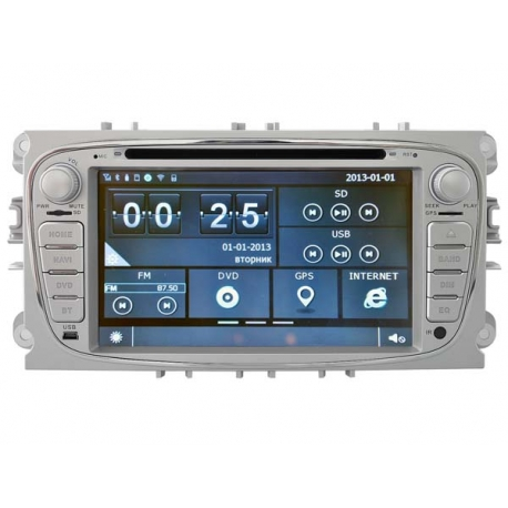 FORD Focus Autoradio navigatie full europa incl HD scherm