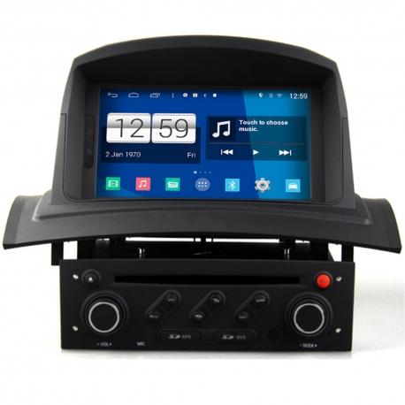 renault megane 2 2002 2008 android autoradio navigatie. Black Bedroom Furniture Sets. Home Design Ideas