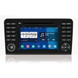 Mercedes ML Android Autoradio navigatie full europa incl. HD scherm