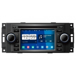 Jeep Grand Cherokee 2005-2011. Android Autoradio navigatie full europa incl. HD scherm