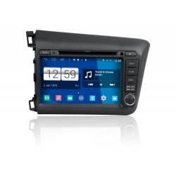 Honda Civic 2012» Android Autoradio navigatie full europa incl. HD scherm