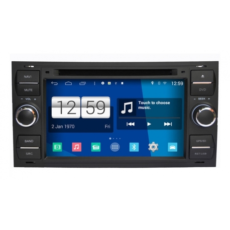 FORD Fusion Android Autoradio navigatie full europa incl. HD scherm