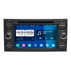FORD Transit 2002 - 2012 Android Autoradio navigatie full europa incl. HD scherm