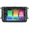 Skoda Roomster 2006 en later 8 inch Android Autoradio navigatie full europa incl. HD scherm