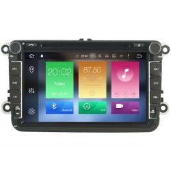 Skoda Octavia 2004 en later 8 inch Android Autoradio navigatie full europa incl. HD scherm