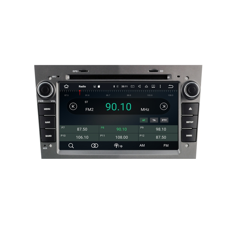 opel corsa 2006 2010 autoradio navigatie full europa incl. Black Bedroom Furniture Sets. Home Design Ideas