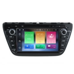 Suzuki S Cross 2013 2015 navigatie autoradio Bluetooth / DVD / SD