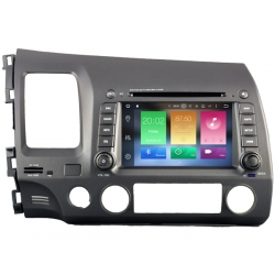 Honda Civic 2006-2011 Autoradio navigatie full europa incl. HD scherm
