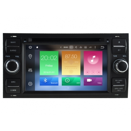 FORD FOCUS 2003-2007 Autoradio navigatie full europa incl. HD scherm