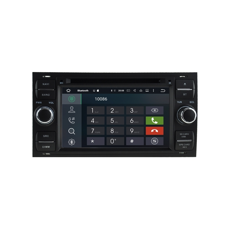 ford focus 2003 2007 autoradio navigatie full europa incl. Black Bedroom Furniture Sets. Home Design Ideas