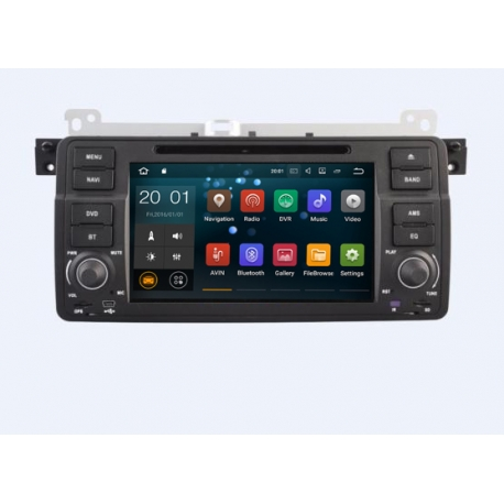 bmw 3 serie e46 android navigatie autoradio navigatie full. Black Bedroom Furniture Sets. Home Design Ideas