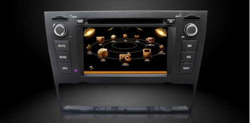 bmw e90 navigatie autoradio systeem dvd bluetooth rds tmc dvb t navaudio. Black Bedroom Furniture Sets. Home Design Ideas