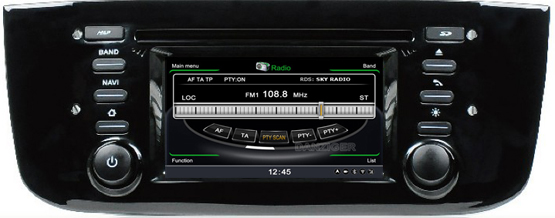 fiat grande punto evo autoradio navigatie full europa incl hd scherm navaudio. Black Bedroom Furniture Sets. Home Design Ideas