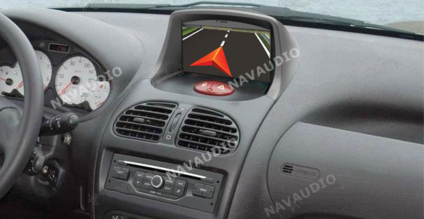 peugeot 206 1998 2009 autoradio navigatie full europa incl hd scherm navaudio. Black Bedroom Furniture Sets. Home Design Ideas